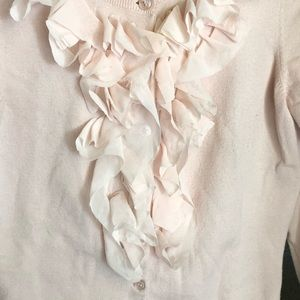 THE LIMITED (The Limited) blush pink cardigan
